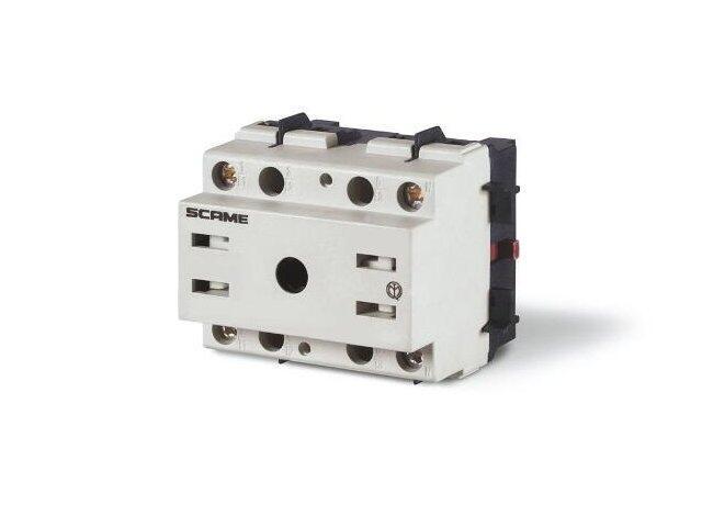 Łącznik krzywkowy bez obudowy MANOVRA 32A 2P montaż na panelu Scame