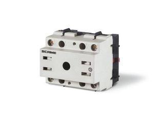 Łącznik krzywkowy bez obudowy MANOVRA 63A 2P montaż na panelu Scame