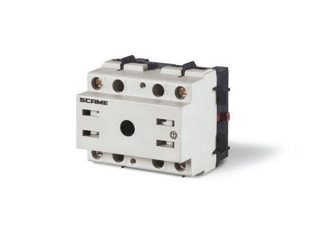 Łącznik krzywkowy bez obudowy MANOVRA 40A 2P montaż na panelu Scame