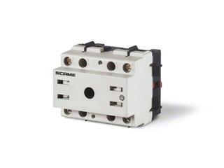 Łącznik krzywkowy bez obudowy MANOVRA 40A 4P montaż na panelu Scame