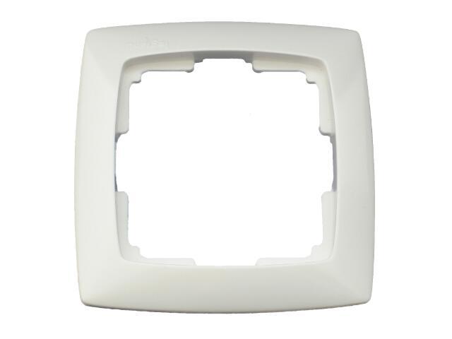 Ramka SUNO pojedyncza 704041 biały Legrand