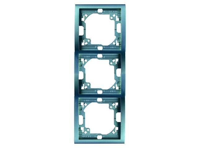 Ramka Classic 3x pionowa MR3P/23 niebieski Kontakt Simon