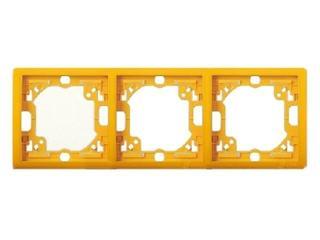 Ramka Classic 3x MR3/13 słoneczny Kontakt Simon