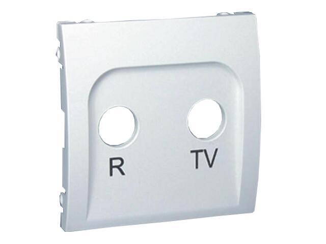 Pokrywa gniazda Classic RTV końcowego i przelotowego MAP/11 biały Kontakt Simon