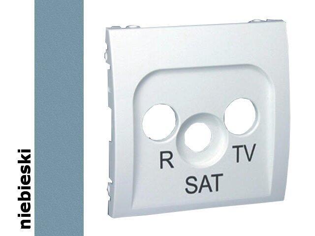 Pokrywa gniazda Classic RTV-SAT MASP/23 niebieski Kontakt Simon