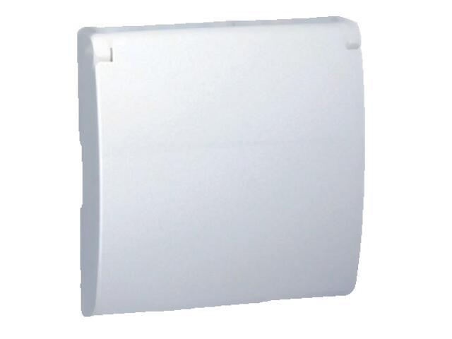 Pokrywa gniazda Classic z/u IP44 MGZ1BP/11 biały Kontakt Simon