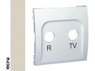 Pokrywa gniazda Classic RTV końcowego i przelotowego MAP/10 ecru Kontakt Simon