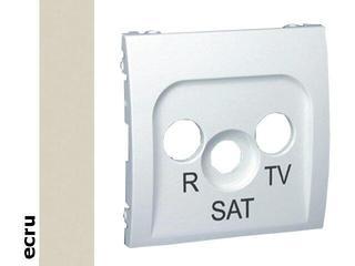 Pokrywa gniazda Classic RTV-SAT MASP/10 ecru Kontakt Simon