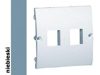 Pokrywa gniazda Classic z wkrętami MGK1P/23 niebieski Kontakt Simon
