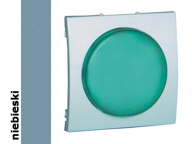 Pokrywa sygnalizatora świetlnego Classic (moduł) MSS/3.01/23 biały niebieski Kontakt Simon
