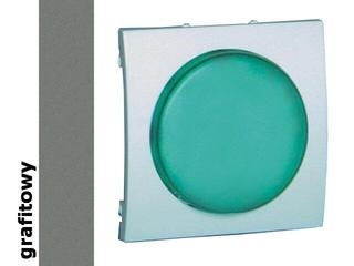 Pokrywa sygnalizatora świetlnego Classic (moduł) MSS/3.01/25 biały grafit Kontakt Simon