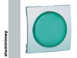 Pokrywa sygnalizatora świetlnego Classic moduł MSS/3.01/26 biały aluminium srebrny Kontakt Simon