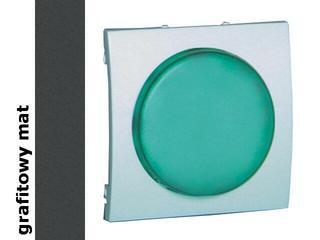 Pokrywa sygnalizatora świetlnego Classic (moduł) MSS/3.01/28 biały matowy grafit Kontakt Simon