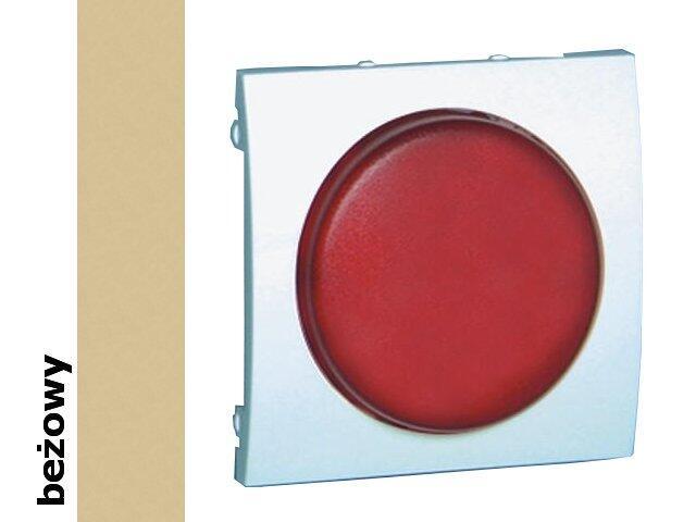 Pokrywa sygnalizatora świetlnego Classic (moduł) MSS/2.01/12 biały beżowy Kontakt Simon