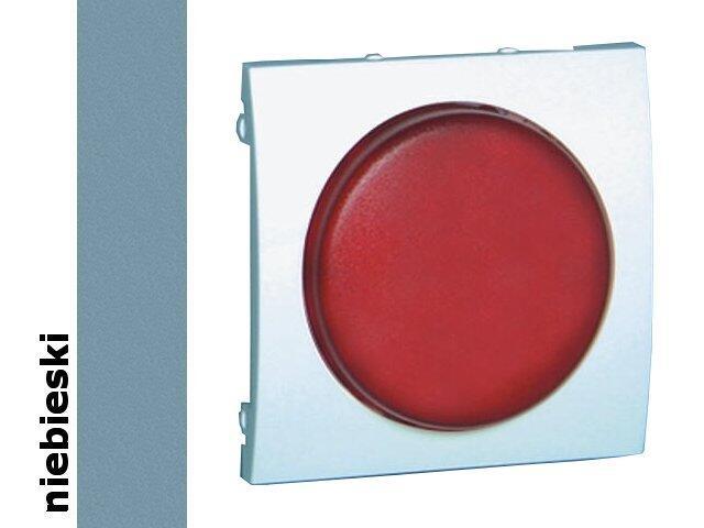Pokrywa sygnalizatora świetlnego Classic (moduł) MSS/2.01/23 biały niebieski Kontakt Simon