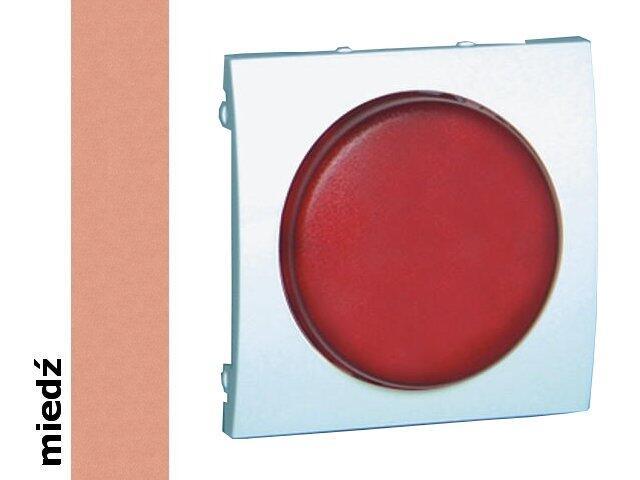 Pokrywa sygnalizatora świetlnego Classic (moduł) MSS/2.01/24 biały miedź Kontakt Simon