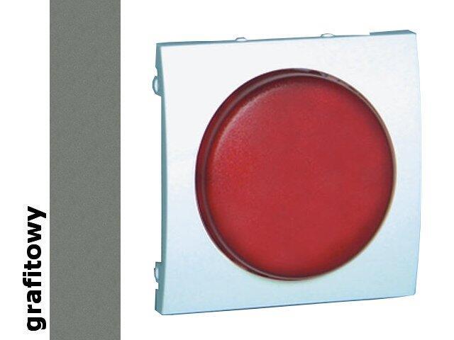Pokrywa sygnalizatora świetlnego Classic (moduł) MSS/2.01/25 biały grafit Kontakt Simon