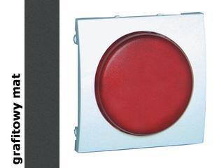 Pokrywa sygnalizatora świetlnego Classic (moduł) MSS/2.01/28 biały matowy grafit Kontakt Simon