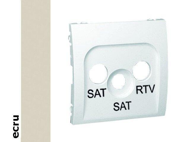 Pokrywa gniazda Classic RTV/SAT/SAT MAS2P/10 ecru Kontakt Simon