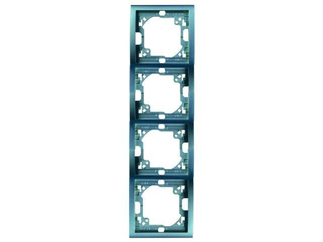 Ramka Classic 4x pionowa MR4P/23 niebieski Kontakt Simon