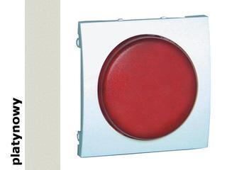 Pokrywa sygnalizatora świetlnego Classic (moduł) MSS/2.01/27 biały platynowy Kontakt Simon