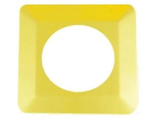 Ramka ścienna pojedyncza OSX-910 żółta Zamel
