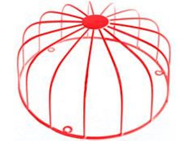 Ramka dzwonka szkolno-alarmowego czerwona typ: ODS-256 D Zamel