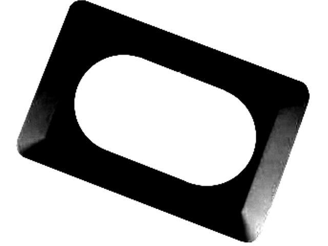 Ramka ścienna podwójna OSX-220 grafit Zamel