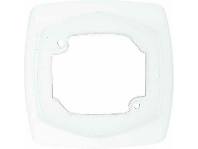 Ramka COMFORT pojedyncza R-1X.BI biały Polmark