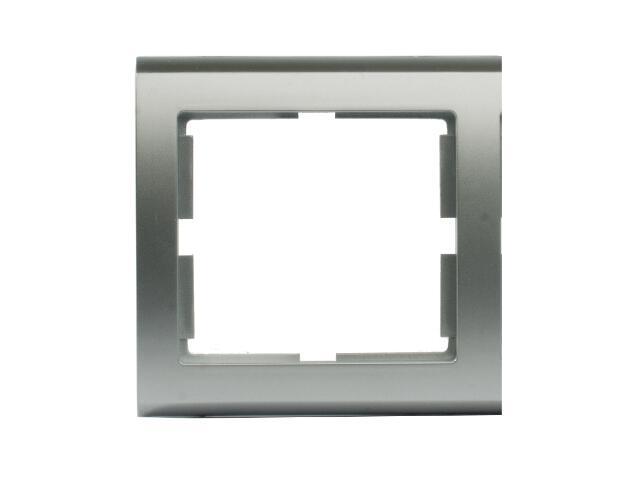 Ramka AURA pojedyncza srebrny Polmark
