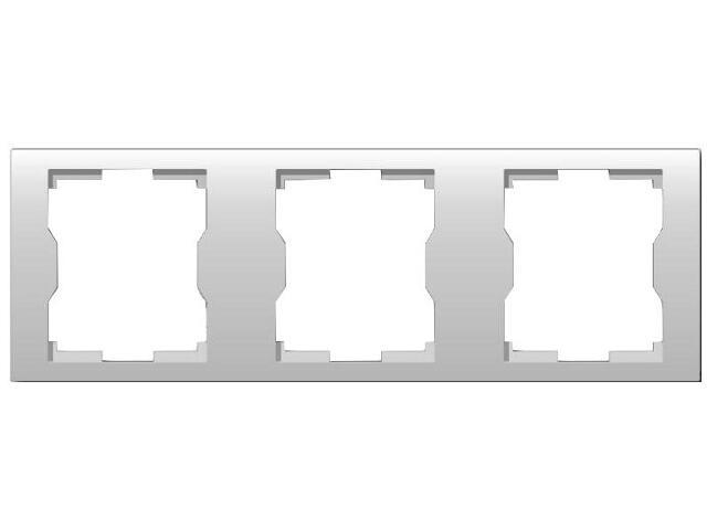Ramka QUATTRO potrójna R 3H biała Elektro-plast N.