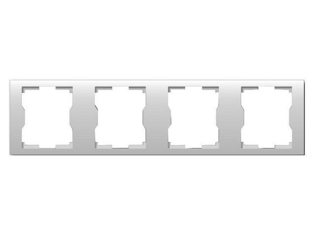Ramka QUATTRO poczwórna R 4H biała Elektro-plast N.