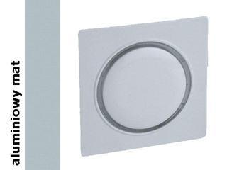 Pokrywa Simon 82 ściemniacza/łącznika przyciskowego 82034-33 aluminium mat Kontakt Simon
