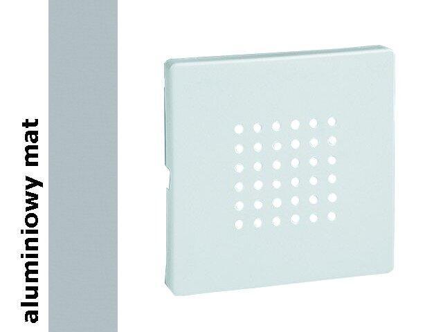 Pokrywa brzęczyka i głośnika Simon 82 aluminium mat 82052-33 Kontakt Simon