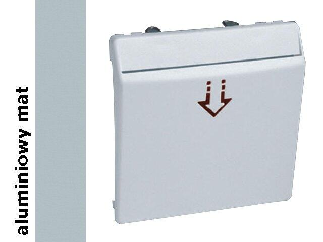 Ramka Simon 82 łącznika hotelowego aluminium mat 82078-33 Kontakt Simon