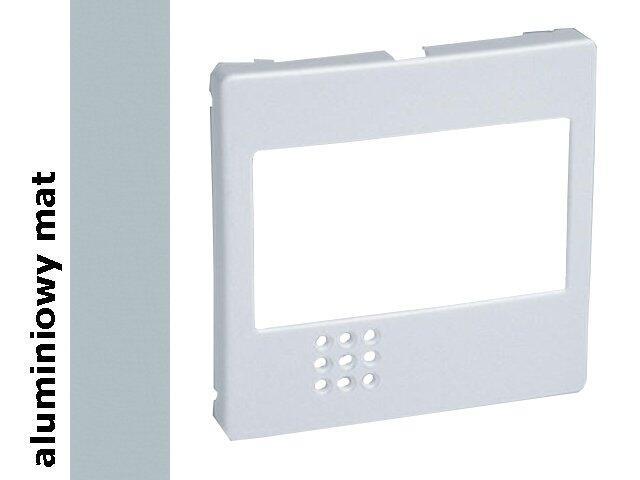Pokrywa Simon 82 ściemniacza na podczerwień aluminium mat 82080-33 Kontakt Simon