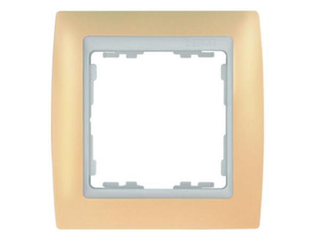 Ramka Simon 82 1x kremowa/pośrednia biała 82611-31 Kontakt Simon