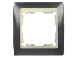 Ramka Simon 82 1x granit/pośrednia beżowy 82714-60 Kontakt Simon