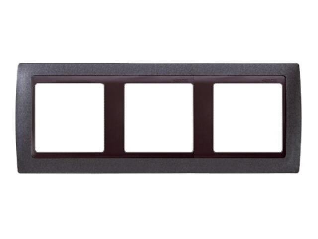 Ramka Simon 82 3x granit/pośrednia grafitowy 82834-60 Kontakt Simon