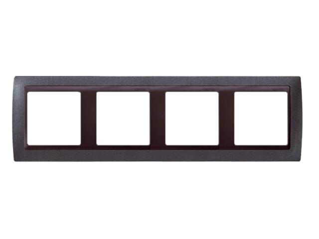 Ramka Simon 82 4x granit/pośrednia grafitowy 82844-60 Kontakt Simon