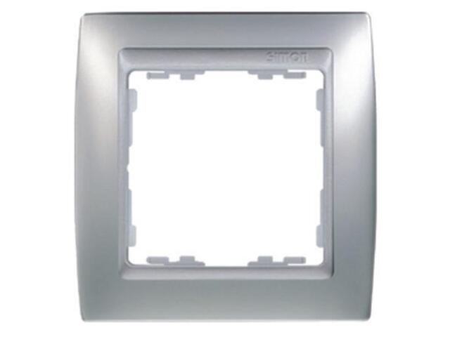 Ramka Simon 82 1x aluminium mat/pośrednia aluminium mat 82914-33 Kontakt Simon