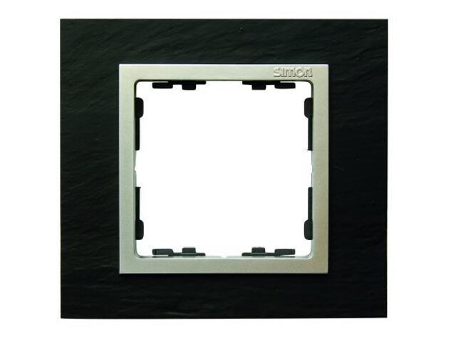 Ramka Simon 82 1x łupek/pośrednia aluminum mat 82917-63 Kontakt Simon