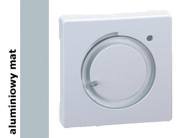 Pokrywa termostatu dla modelu 75500-39. Simon 82 termostatu aluminium mat 82505-33 Kontakt Simon