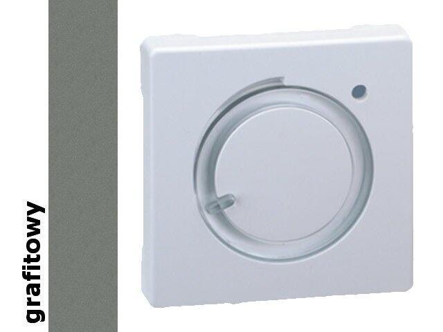 Pokrywa termostatu dla modelu 75500-39. Simon 82 termostatu grafit 82505-38 Kontakt Simon