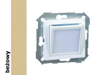 Mechanizm do modułów Simon 82 modułu świecącego LED beżowy 82036-31 Kontakt Simon