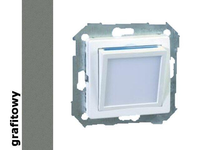 Mechanizm do modułów Simon 82 modułu świecącego LED grafit 82036-38 Kontakt Simon