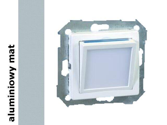 Mechanizm do modułów Simon 82 modułu świecącego LED aluminium mat 82036-33 Kontakt Simon
