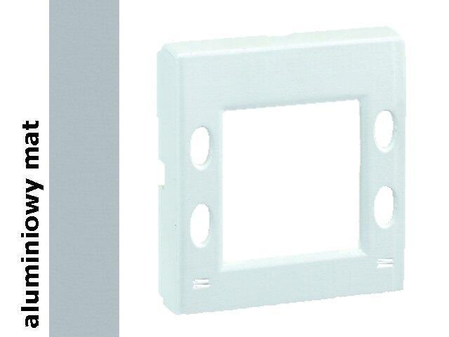 Pokrywa Simon 82 zegara, termostatu, programatora 82555-33 aluminium mat Kontakt Simon