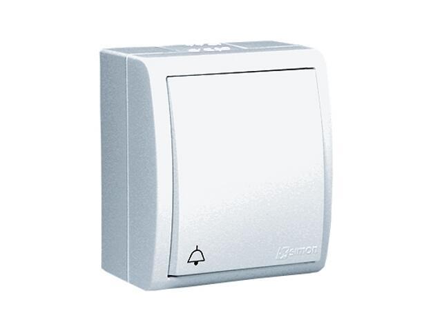 Przycisk Aquarius dzwonek IP54 AQD1/11 biały Kontakt Simon