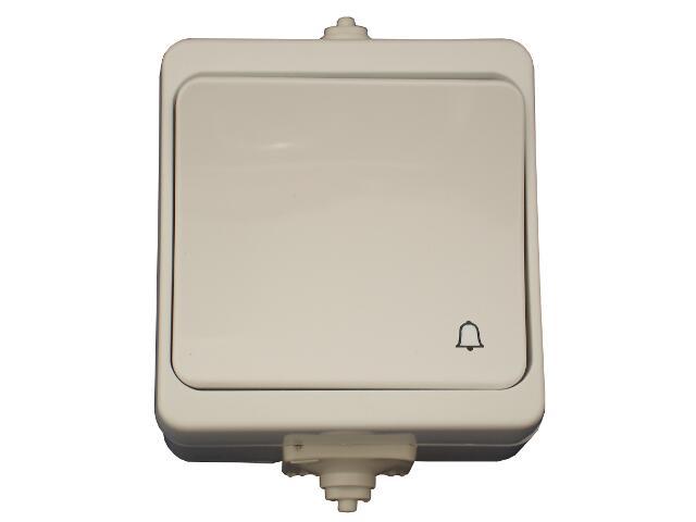 Łącznik natynkowy JANTAR dzwonek IP44 WNT-7JB biały Abex